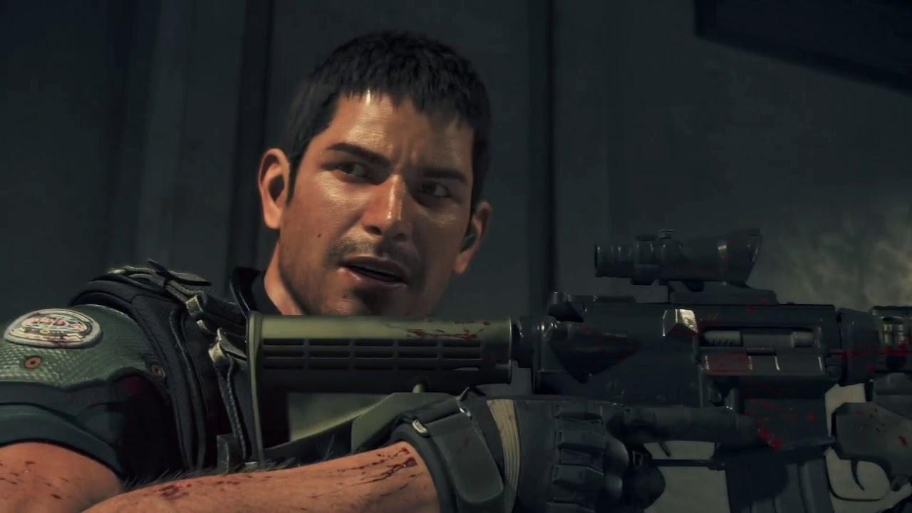 Resident Evil Vendetta Chris And Leon Vs Zombies 1080p 60fps