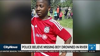 Montreal police believe missing boy fell in river