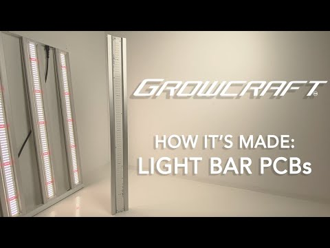 How It's Made - ChilLED Growcraft LED Light Strip PCBs - Made in USA