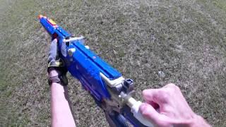 "OVER 450 FPS Nerf Mod!!! : LS4B custom ""Sniper Rifle"""