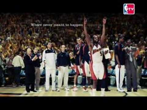 """NBA """"Where Amazing Happens"""" commercial"""