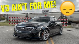homepage tile video photo for 2019 Cadillac CTS-V Driving Review - The Ultimate...Let Down