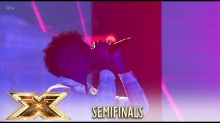 Dalton Harris WOWS Britain With Incredible Feeling Good Cover! | Semi-Finals | The X Factor UK 2018