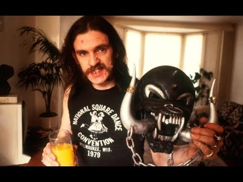Henry Rollins - Lemmy Kilmister (from the bands Motorhead and Hawkwind)