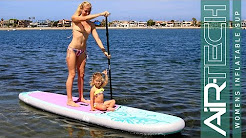 ISLE Women's Inflatable paddle Board Review