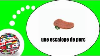 Французского видео урок = мяса