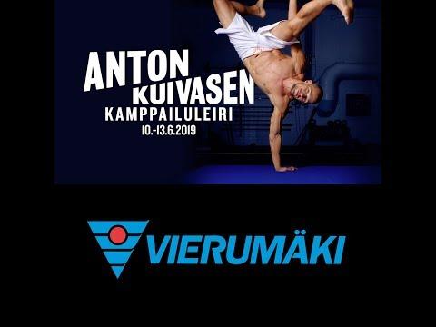 Anton Kuivasen kamppailuleiri junnuille @Vierumaki 10-13.6