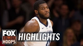 Villanova vs. St. John's | FOX COLLEGE HOOPS HIGHLIGHTS