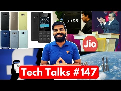 Tech Talks #147 - Jio Prime Extended? NASA Error, YouTube AI, Facebook Gifs, Nokia 105