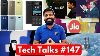 Tech Talks #147 Jio Prime Extended? NASA Error, YouTube AI, Facebook Gifs, Nokia 105