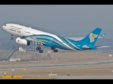 Oman Air - Muscat to Manchester - Flight WY 105