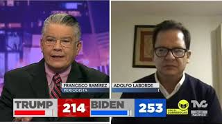 Donald Trump quiere confundir al electorado: Adolfo Laborde