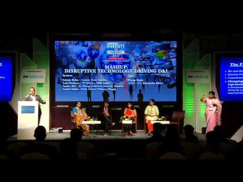 NASSCOM Diversity and Inclusion Summit 2017: Mash Up  Disruptive Technology Driving D&I