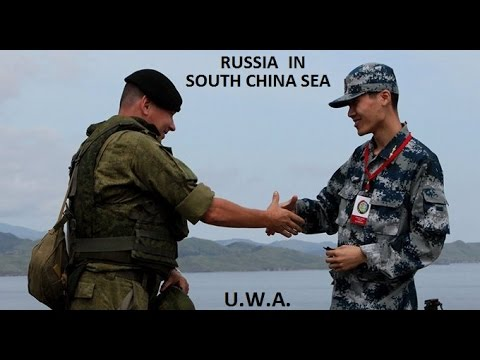 Russian Navy in South China Sea! Sino-Russo Joint Sea 2016 Naval Drill!