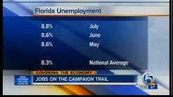 Florida unemployment rate climbs