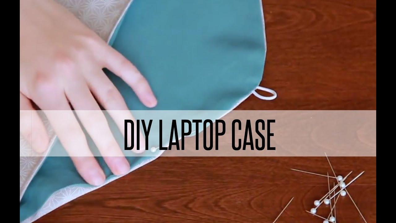 DIY REVERSIBLE LAPTOP SLEEVE/ IPAD CASE - YouTube