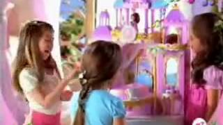 2007 Barbie as The Island Princess Castle Vanity Commercial