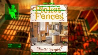 Picket Fences - Saugus Ironworks - Fallout 4