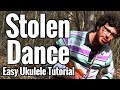 Stolen Dance Ukulele Tutorial With Easy Play Along Milky Chance Chords mp3