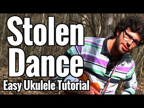 Stolen Dance - Ukulele Tutorial With Easy Play Along - Milky Chance ...