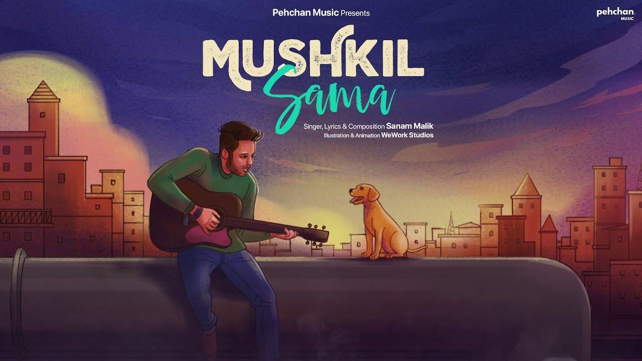 Mushkil Sama - Official Song   Sanam Malik   New Hindi Song 2021