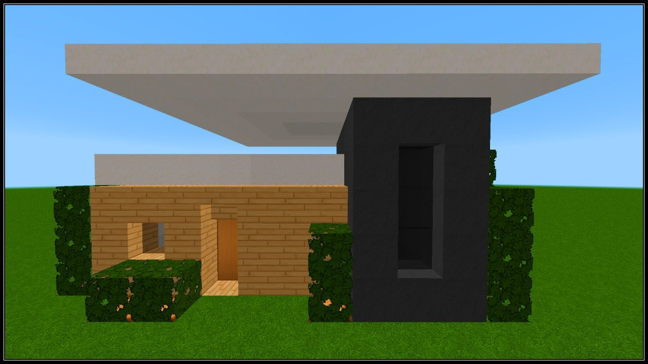 Minecraft tuto - Comment faire une belle maison moderne ...