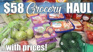 $58 Grocery Haul Using Walmart Delivery | We've Got The Sickness