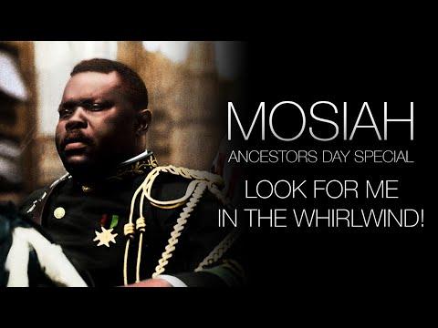 Marcus Mosiah Garvey • Afrikan Futurism & the Whirlwind