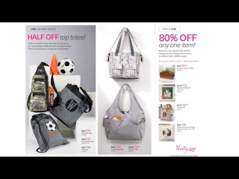 Thirty One June 2019 Special | 50% Off 5 Products | 80% off