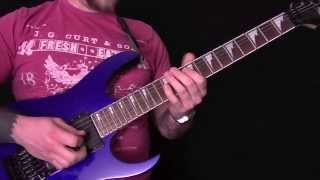 �������� ���� Metalcore Guitar Techniques And Tricks Guitar Tutorial ������