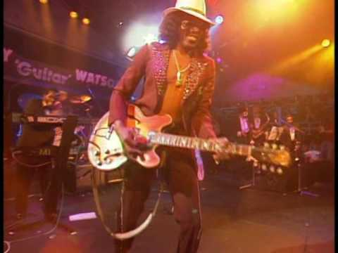 "First Release Ever: full Baden-Baden Concert 1990,  Johnny ""Guitar"" Watson"