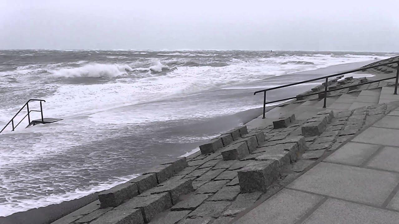 Sturm über Norderney Oktober 2014 Youtube
