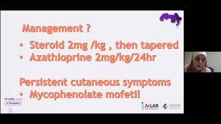 Bushra Al Adaileh || Challenging Cases in Pediatric Rheumatology: Case 3