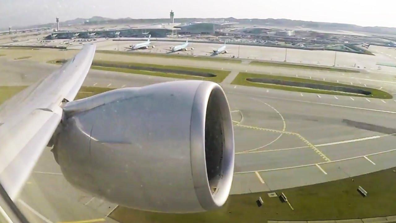 MASSIVE Boeing 777-300ER Engine ROOOOAAAR on Takeoff - GREAT ...