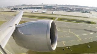 MASSIVE Boeing 777-300ER Engine ROOOOAAAR on Takeoff - GREAT Incheon Airport Views!!! [AirClips]