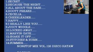 Nonstop mix vol.126(disco hataw)mix by ryan .....