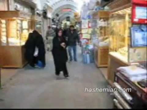 Bazaar in Yazd, Iran