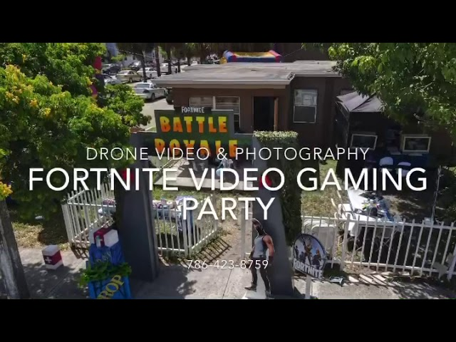 Fortnite Video Gaming Party - South Florida 786-423-8759