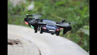 How To Make a Car That Can Fly - Car Helicopter - Drone Car