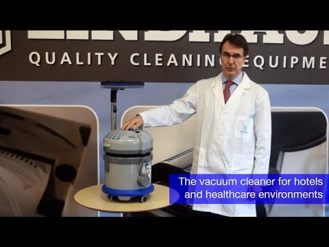 HF6 pro eco Force: the ideal vacuum cleaner for hotels and healthcare environments