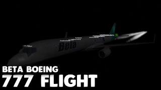 Beta Airlines Boeing 757 Flug! | Roblox