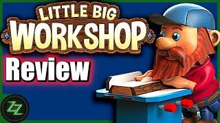 Little Big Workshop Review (Deutsch; many subtitles) Test der Wirtschafts-Sim in niedlich [Gameplay]