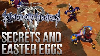 Kingdom Hearts 3 Trailer Secrets and Easter Eggs