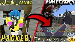 ¡No me lo Creó! Entro a una Partida Repleto Hackers y la Ganó! | Momentos Mamones | Minecraft 1.2