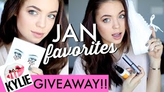 JANUARY OBSESSIONS + Kylie Cosmetics Giveaway!