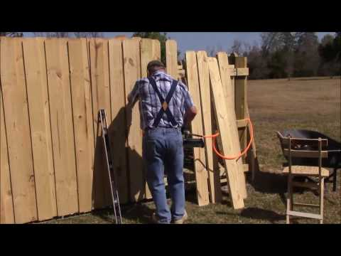 112 Building 130 FT of wooden fence and three gates 2 of 2