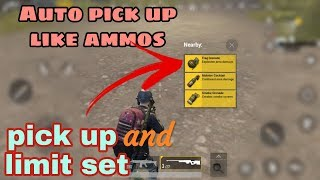 How to pick up grenate auto like Ammon /Ammon pickup limit/ in pubg mobile by Lost gaming 2