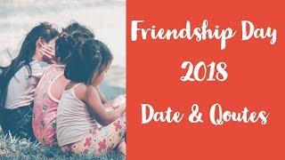 Friendship Day Date 2018 - International Friendship Day 2018 Date -Friendship day 2018 India