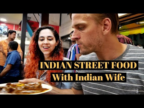 Indian Street Food in GUJARAT with BRAIN EATING WIFE (Vadodara Non-Veg Tour) #RockEats