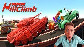 - Игра про машинки для детей ГОНКИ НА КРУТЫХ ТРАССАХ MMX Hill Climb